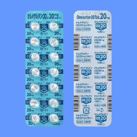 錠 オルメサルタン od 医療用医薬品 :