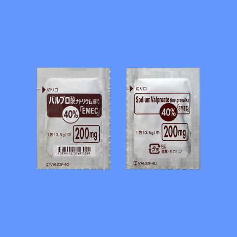 バルプロ 酸 ナトリウム